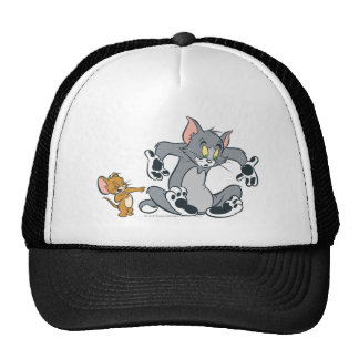 Schwarze Tatzen-Katze Toms und Jerry Kult Mützen