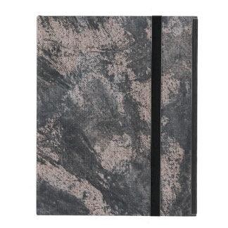 Schwarze Tinte auf Brown-Hintergrund iPad Schutzhülle