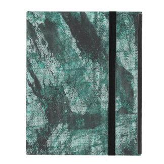 Schwarze Tinte auf grüner Markierung Etui Fürs iPad