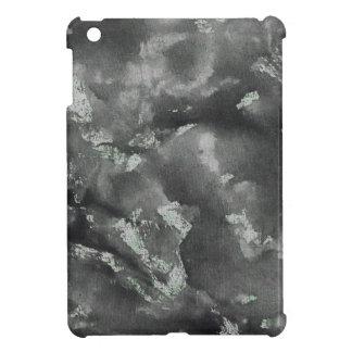Schwarze Tinte auf grüner waschbarer Markierung iPad Mini Hülle