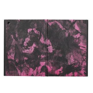 Schwarze Tinte auf rosa Hintergrund