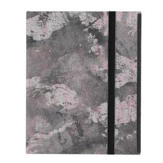 Schwarze Tinte auf rosa Leuchtmarker Hülle Fürs iPad