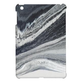Schwarze Tinte iPad Mini Hülle