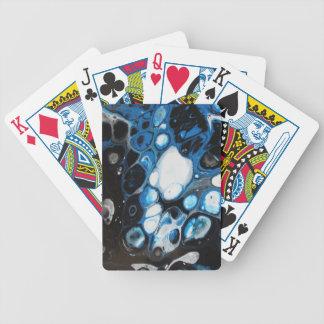 Schwarze u. blaue Blasen Bicycle Spielkarten