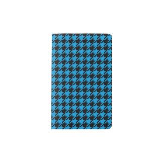 Schwarze u. blaue Hahnentrittmuster Moleskine Moleskine Taschennotizbuch