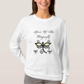 Schwarze u. gelbe digitale Libellen u. T-Shirt