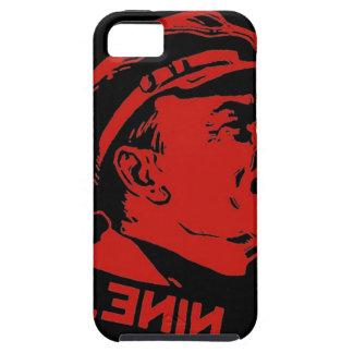 Schwarze u. rote Lenin-Kommunist-Grafik iPhone 5 Case