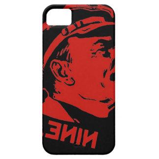 Schwarze u. rote Lenin-Kommunist-Grafik iPhone 5 Etuis