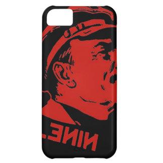 Schwarze u. rote Lenin-Kommunist-Grafik iPhone 5C Hülle
