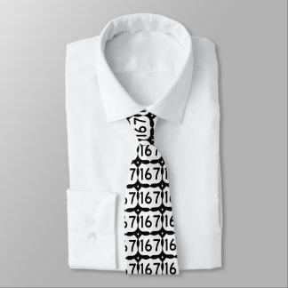 Schwarze u. weiße der Landstraßen-167 Krawatte