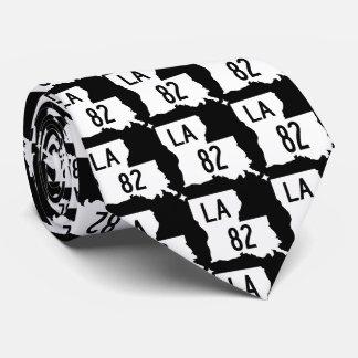 Schwarze u. weiße der Landstraßen-82 Krawatte
