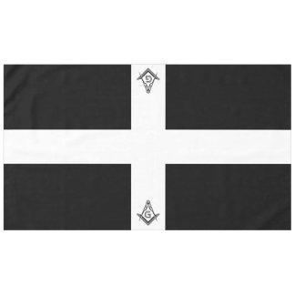 Schwarze u. weiße Freimaurertischdecken und Tischdecke