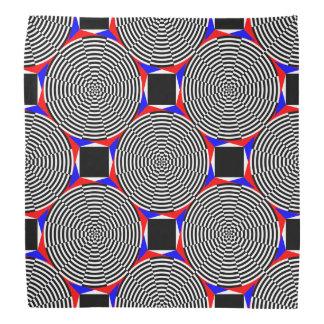 Schwarze u. weiße Strahlung durch Kenneth Yoncich Halstuch