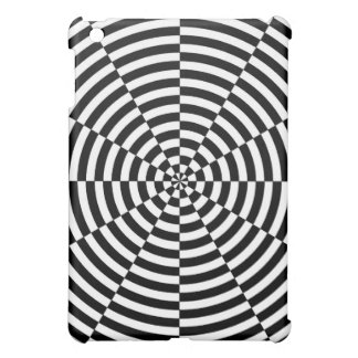 Schwarze u. weiße Strahlung durch Kenneth Yoncich iPad Mini Hülle