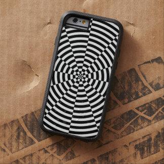 Schwarze u. weiße Strahlung Tough Xtreme iPhone 6 Hülle