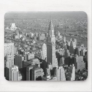 Schwarze u. weiße Vintage New- York Mousepads