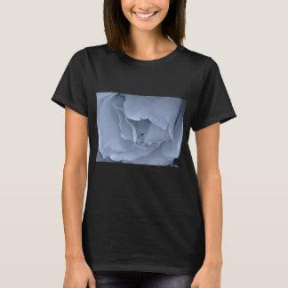Schwarze und blaue Rose T-Shirt