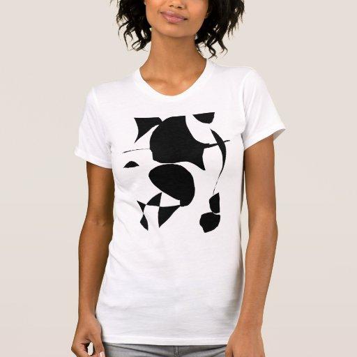 Schwarze Universum-Raum-Energie-Gedanken Tshirt