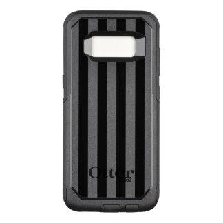 Schwarze vertikale Streifen OtterBox Commuter Samsung Galaxy S8 Hülle