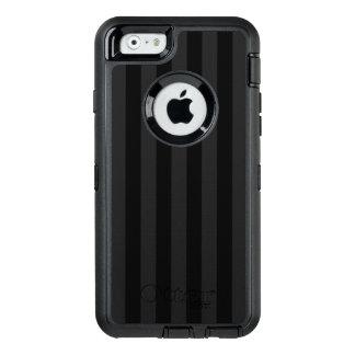 Schwarze vertikale Streifen OtterBox iPhone 6/6s Hülle