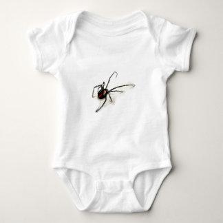 Schwarze Witwe Baby Strampler