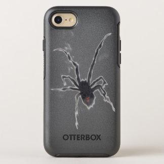 SCHWARZE WITWE - passen Sie auf! OtterBox Symmetry iPhone 8/7 Hülle