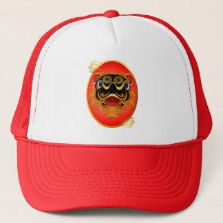 Schwärzen Sie 'n-Goldchinesischen Truckerkappe