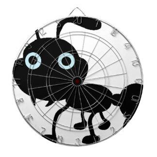 Schwarzer Ameisen-Cartoon Dartscheibe
