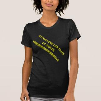 SCHWARZER AUSLADER KOMMT FRAU SONNE AN T-Shirt