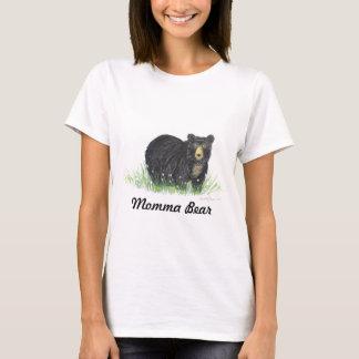 Schwarzer Bär Mutterbären, T-Shirt