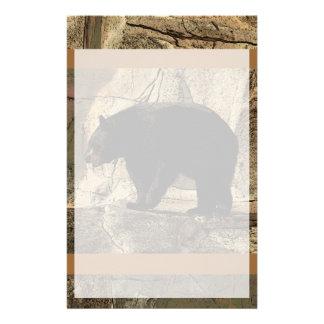 Schwarzer Bär (Originalvorlage) Briefpapier
