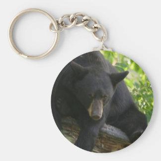 schwarzer Bär Schlüsselanhänger