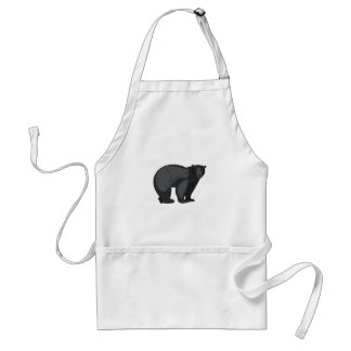 Schwarzer Bär Schürze