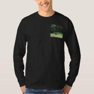 Schwarzer Bär T-Shirt