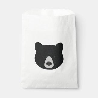 Schwarzer Bärn-Gesicht Geschenktütchen