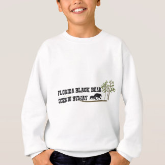 Schwarzer Bärn-landschaftlicher Seitenweg Floridas Sweatshirt