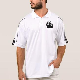 Schwarzer Bärn-Stolz-Bärentatze (L) Polo Shirt
