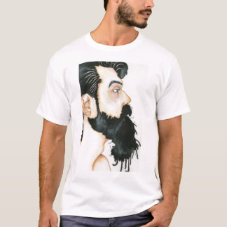 Schwarzer Bart T-Shirt
