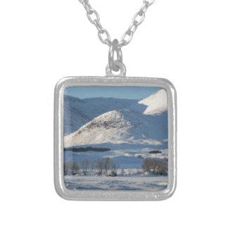 Schwarzer Berg, Schottland 8161 Versilberte Kette