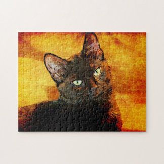 SCHWARZER CAT-OLIVE PUZZLE