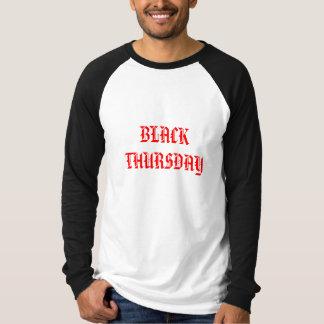 SCHWARZER DONNERSTAG T-Shirt