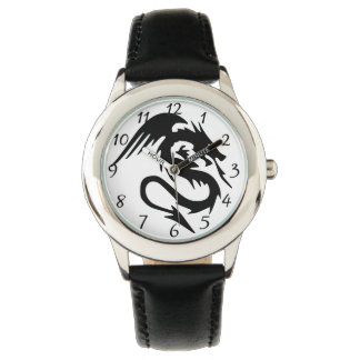 Schwarzer Drache Uhr