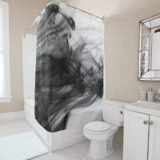 Schwarzer Duschvorhang des Feuer-I durch Künstler
