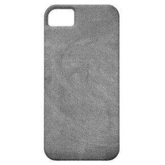 Schwarzer grauer Tafel-Tafel-Hintergrund iPhone 5 Cover
