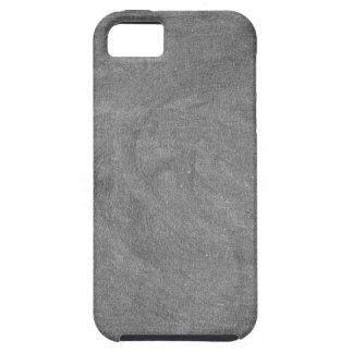 Schwarzer grauer Tafel-Tafel-Hintergrund iPhone 5 Hüllen