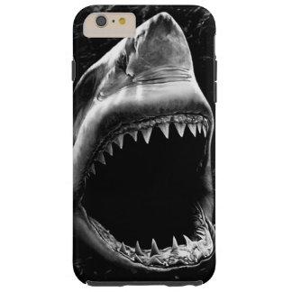 Schwarzer Haifisch iPhone 6 Kasten Tough iPhone 6 Plus Hülle