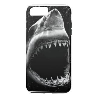 Schwarzer Haifisch iPhone 7 Kasten iPhone 8 Plus/7 Plus Hülle