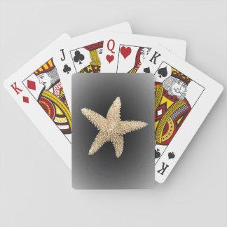 schwarzer Hintergrund der Spielkarten der Starfish