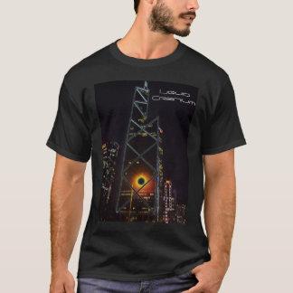 Schwarzer Hong- KongT - Shirt durch flüssigen