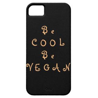 Schwarzer iPhone Kasten für Vegans mit orange Schutzhülle Fürs iPhone 5